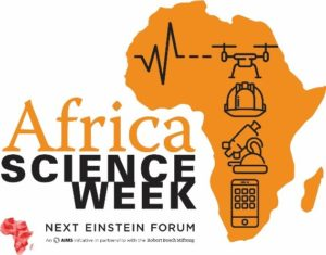 Logo de l'Africa Science Week