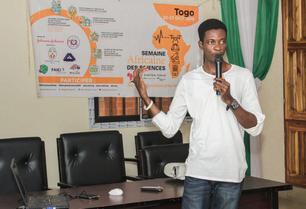 Richrd Folly a créé au Togo une entreprise qui utilise les données satellitares pour la surveillance de la Terre