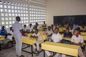 Séance d'orientation académique par le CNIOSP à Adekpui