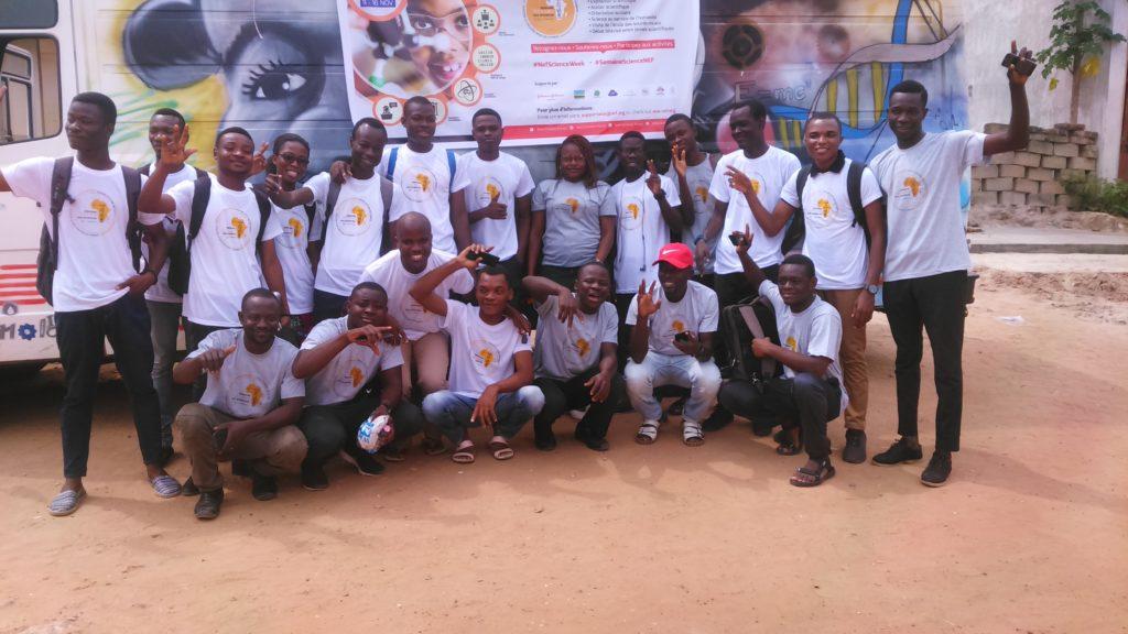 Equipe de l'ASW 2019 au départ à MOBILELABO le 10 novembre 2019
